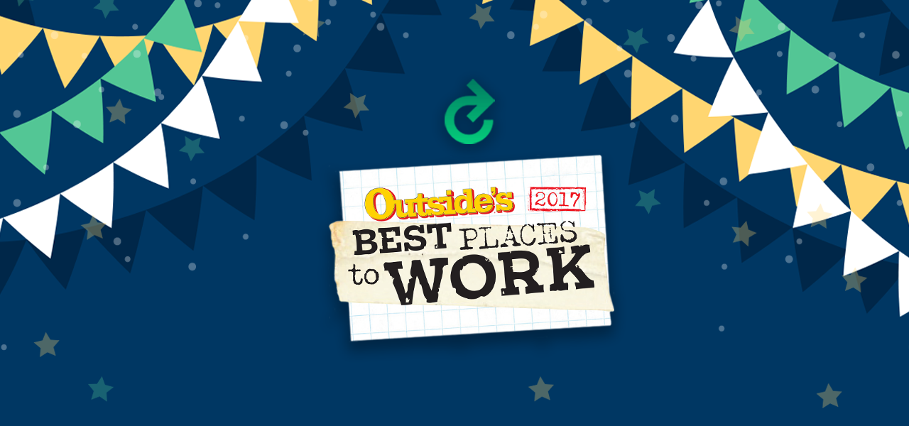 EverCheck Recognized in OUTSIDE's Best Places to Work 2017
